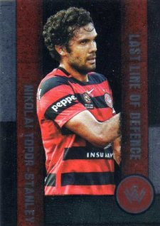 2016/17 FFA & A-League Soccer Last Line of Defence LL12 Nikolai Topor-Stanley Wanderers