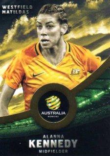 2016/17 FFA & A-League Soccer Gold Parallel #34 Alanna Kennedy Matildas