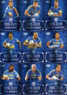2016 NRL Elite Sapphire MOJO Parramatta Eels #8/20