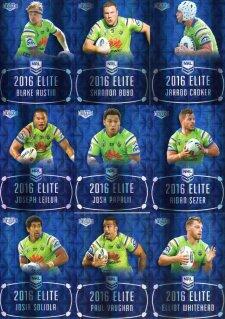 2016 NRL Elite Sapphire MOJO Canberra Raiders #14/20