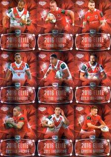 2016 NRL Elite Ruby MOJO St George Dragons #38/40