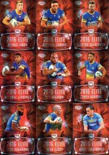 2016 NRL Elite Ruby MOJO Parramatta Eels #8/40
