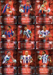 2016 NRL Elite Ruby MOJO Newcastle Knights #12/40