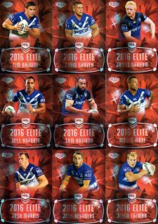 2016 NRL Elite Ruby MOJO Canterbury Bulldogs #34/40