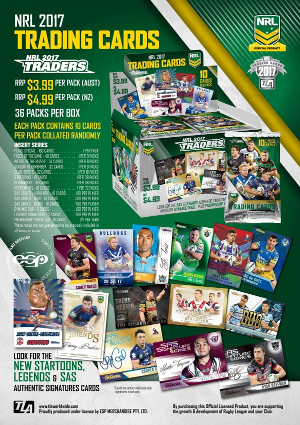 2017 NRL Traders Sales Flyer