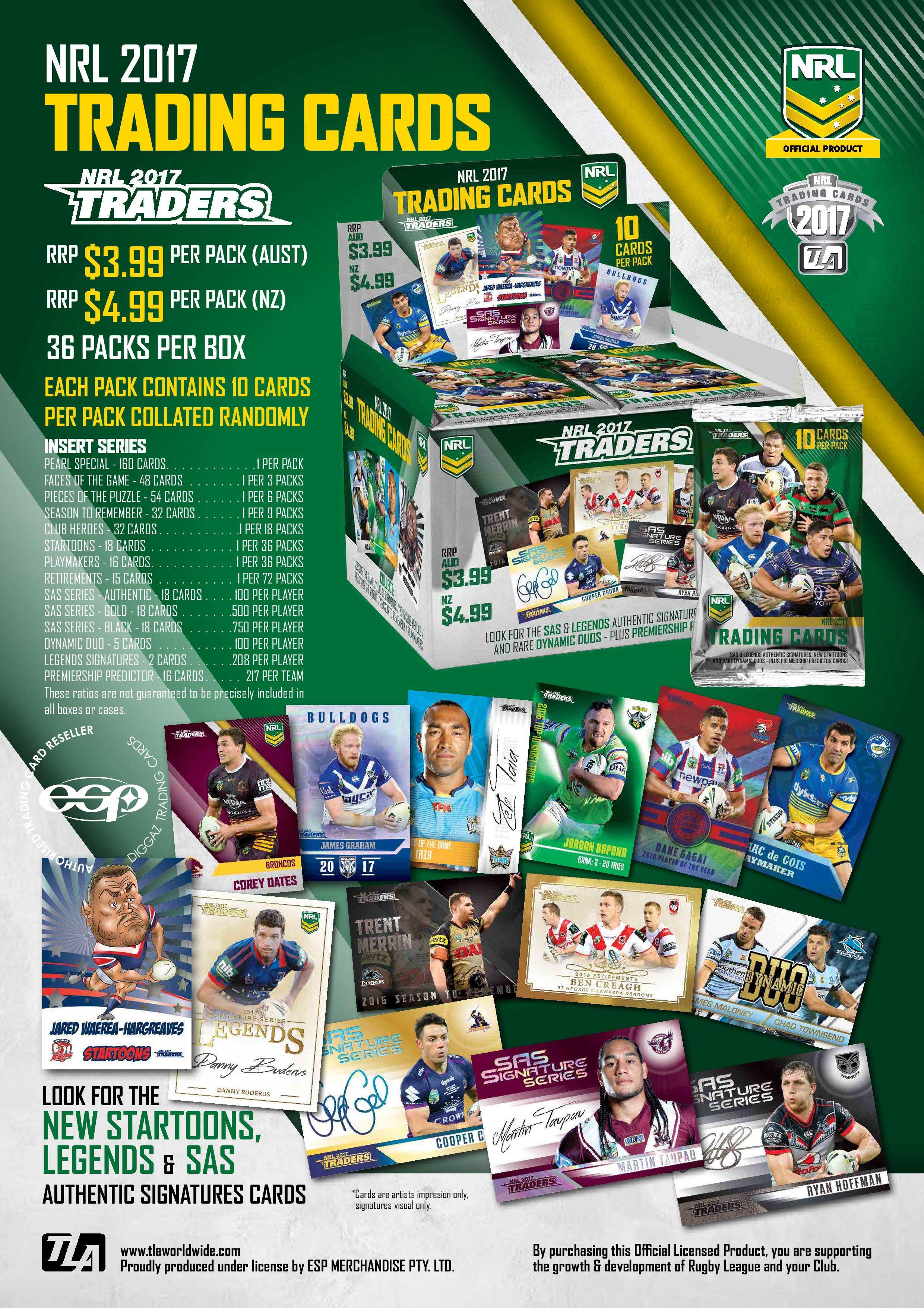 2017 NRL Traders Sales Flyer