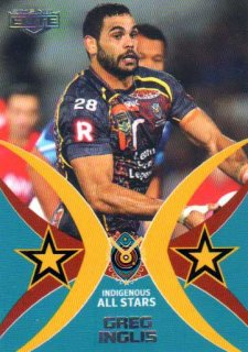 2015 NRL Elite All Stars #AS6 Greg Inglis Rabbitohs #84/100
