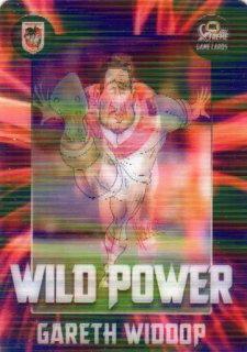 2017 NRL Xtreme Flick Card WP13 Gareth Widdop Dragons