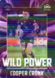 2017 NRL Xtreme Flick Card WP7 Cooper Cronk Storm