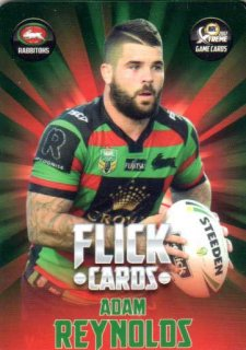 2017 NRL Xtreme Flick Card FC12 Adam Reynolds Rabbitohs