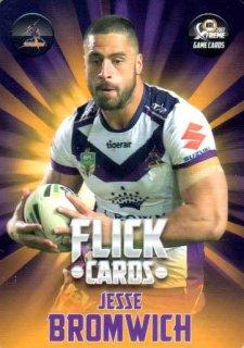 2017 NRL Xtreme Flick Card FC7 Jesse Bromwich Storm