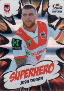 2017 NRL Xtreme Superhero SH26 Josh Dugan Dragons