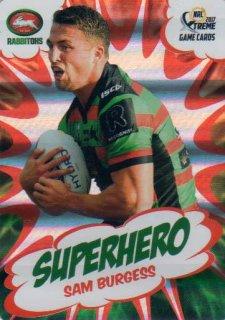 2017 NRL Xtreme Superhero SH23 Sam Burgess Rabbitohs