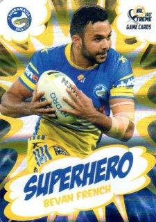 2017 NRL Xtreme Superhero SH20 Bevan French Eels