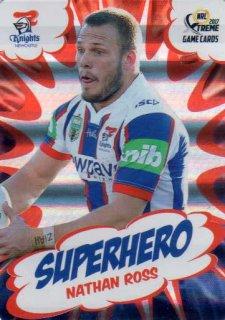 2017 NRL Xtreme Superhero SH15 Nathan Ross Knights