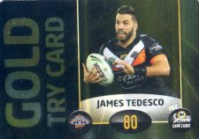 2017 NRL Xtreme Power Card PC9 James Tedesco Tigers