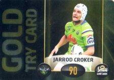 2017 NRL Xtreme Power Card PC5 Jarrod Croker Raiders