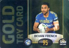 2017 NRL Xtreme Power Card PC3 Bevan French Eels