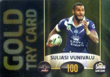 2017 NRL Xtreme Power Card PC1 Suliasi Vunivalu Storm