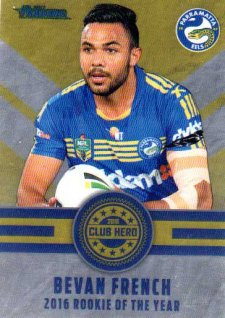 2017 NRL Traders Club Hero CH20 Bevan French Eels