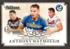 2017 NRL Traders Retirements R11 Anthony Watmough Eels