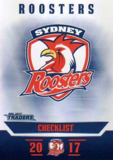2017 NRL Traders Parallel Pearl Series PS131 Roosters Checklist