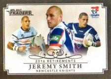 2017 NRL Traders Retirements R9 Jeremy Smith Knights