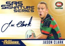 2017 NRL Traders SAS Gold SASG12 Jason Clark Rabbitohs