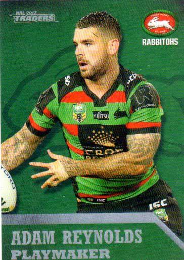 2017 NRL Traders Playmaker PM12 Adam Reynolds Rabbitohs