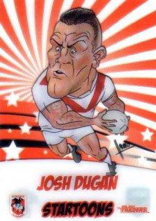 2017 NRL Traders Startoons ST15 Josh Dugan Dragons