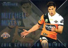 2017 NRL Traders Season to Remember SR32 Mitchell Moses Tigers