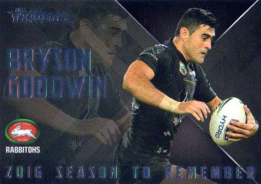 2017 NRL Traders Season to Remember SR24 Bryson Goodwin Rabbitohs