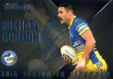 2017 NRL Traders Season to Remember SR19 Michael Gordon Eels