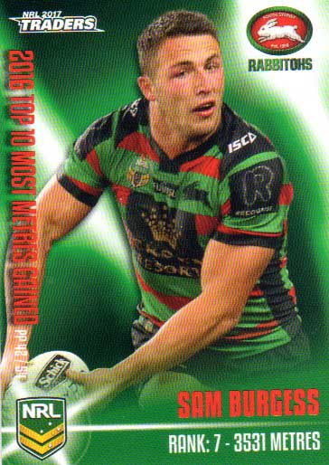 2017 NRL Traders Pieces of the Puzzle PP42 Sam Burgess Rabbitohs