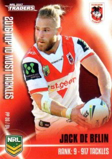 2017 NRL Traders Pieces of the Puzzle PP26 Jack DeBelin Dragons