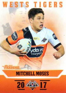 2017 NRL Traders Parallel Pearl Series PS154 Mitchell Moses Tigers