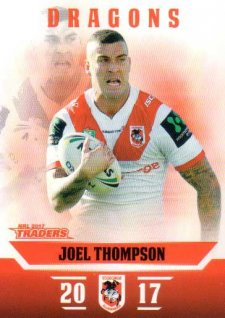 2017 NRL Traders Parallel Pearl Series PS129 Joel Thompson Dragons