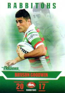 2017 NRL Traders Parallel Pearl Series PS115 Bryson Goodwin Rabbitohs