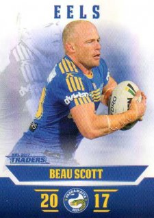 2017 NRL Traders Parallel Pearl Series PS99 Beau Scott Eels