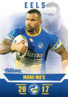 2017 NRL Traders Parallel Pearl Series PS97 Manu Ma'u Eels