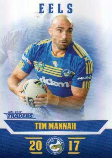 2017 NRL Traders Parallel Pearl Series PS96 Tim Mannah Eels