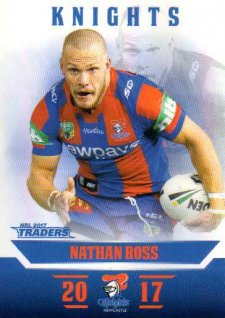 2017 NRL Traders Parallel Pearl Series PS77 Nathan Ross Knights