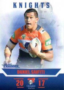 2017 NRL Traders Parallel Pearl Series PS78 Daniel Saifiti Knights