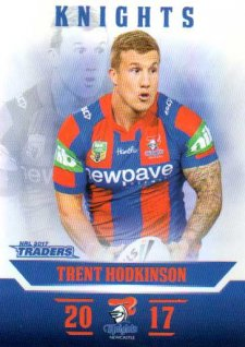 2017 NRL Traders Parallel Pearl Series PS73 Trent Hodkinson Knights