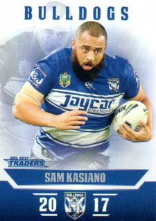 2017 NRL Traders Parallel Pearl Series PS25 Sam Kasiano Bulldogs