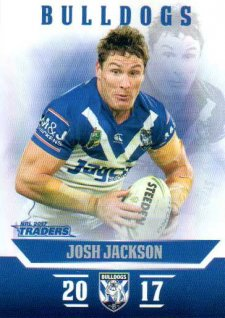 2017 NRL Traders Parallel Pearl Series PS24 Josh Jackson Bulldogs
