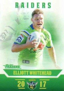 2017 NRL Traders Parallel Pearl Series PS20 Elliott Whitehead Raiders
