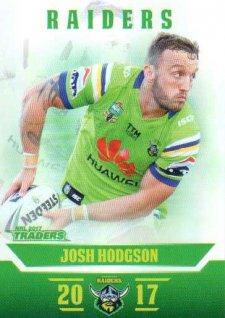 2017 NRL Traders Parallel Pearl Series PS15 Josh Hodgson Raiders