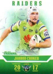 2017 NRL Traders Parallel Pearl Series PS14 Jarrod Croker Raiders