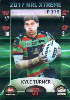 2017 NRL Xtreme Parallel P119 Kyle Turner Rabbitohs